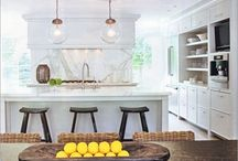 Dream Kitchen / A narrowed selection of my all time favorite kitchens / by Bonnie Edelman