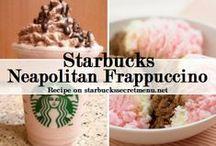 Starbucks Secret Menu Frappuccinos / 100+ Frappuccino recipes from the always growing Starbucks Secret Menu. Twix Frappuccino, Butterbeer Frappuccino, Oreo Frappuccino and much more! / by Starbucks Secret Menu