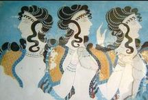 Ancient greek / Ancient Greece. Sculpture. Paintings. / by Clío McBeal