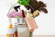 Green Cleaning ~ non-toxic, squeaky clean cleaning solutions / by Gwen Ledbetter Arias