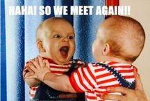 Ha, Ha, Ha! /  Laugh a little! / by ☼☯☪✰∞《 αιιγ 》∞✰☪☯☼