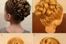 HAIRSTYLE Tutorials / by Fashion Projects & Creative Ideas