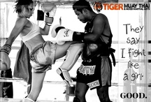 Too Legit to Quit - Females at Tiger / Yes, combat fitness has traditionally been a man's stomping ground but here, at Tiger Muay Thai & MMA, we are bucking the trend! Women are coming out in droves to punch and plank with the best of 'em. Whether their goal is to lose weight, get fit or completely change their life from the inside-out, women are showing that it's not a man's game anymore! Take a look at our videos and photos. Let them inspire you to undertake your best life possible and don't forget to visit www.tigermuaythai.com / by Tiger Muay Thai