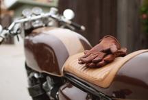 · M O T O R C Y C L E S · / motorcycles · motorbikes · moped · cafe racer · custom · bobber / by Dámaso Suárez