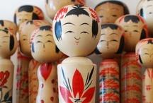 Japan: Kokeshi Dolls / by Amy Laslow