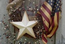 ❥ JULY 4TH ¸.•*¨) (¸.•´ (¸.•` / ❥ 4th of July Celebration is my birthday month!!! / by Jennilynn Parks