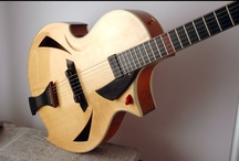 Guit-Art / Guitars Jewels and wonderful stringed instruments. / by Guittek
