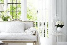 """New, Light & Bright Interiors / This board features Traditional or European White, Neutral or Light Interior Favorites. So many people I know say they love the """"Light and Bright"""" look in homes. So this board is just for them - a board that showcases beautifully designed home interiors that are mainly """"Light"""" in their general appearance. / by Darlene Bowes"""