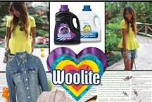 Love Your Style / No matter what look you're going for, Woolite®  Darks and Everyday will keep the clothes you love looking like new, longer. Unlike some detergents, Woolite®  has a special formula that won't cause the clothes you love to fade, shrink, or stretch. / by Woolite