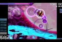 My osu! Gameplays  / My gameplays of osu! on http://www.youtube.com/n0v4c4n3music   / by Gaby RM