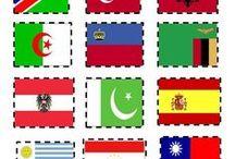 Flags / Διάφορες δραστηριότητες και κατασκευές για την σημαία / by Popi-it.gr