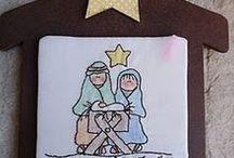 Nativity crafts-ideas / Διάφορες ιδέες και κατασκευές για την γέννηση .. / by Popi-it.gr
