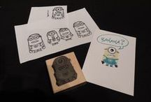 UNDEFINED - Rubber Stamp Carving by Stampin' Up! / Need a stamp but can't find one to buy?  then make your own!!!  if you can trace an image you like - you can carve it yourself! / by Alana Jean-Louis