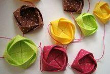 origami em tecido / by Sónia Nogueira
