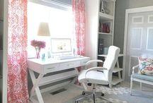 Home office @ Career Girl :-)  / by SJ