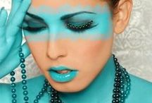AQUA, TURQUOISE AND TEAL ( and mint etc ) / Great colours / by Joanna Carter