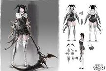 Game Character Concept / by Mjo Bak