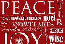 DECOR: CHRISTMAS-Holiday / by Rebecca J. Hamilton