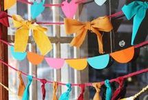 Party Time / Party Decoration Inspiration!  / by Susanna Chan