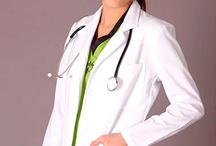 Uniformes Sacos para Dama / Uniformes médicos y de enfermería / by Tanyre Uniformes