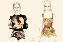 FASHION ILLUSTRATIONS / by Camille French
