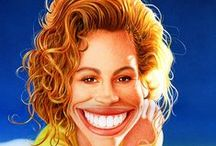 CARICATURES - ACTORS - ACTRESSES / by Anthony Contorno Sr.