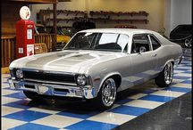 Muscle & more... / Muscle cars, classics & more. In 1984, my 1st car was a 1972 Chevy Nova... I had no idea how cool it was! / by Bea Sapient