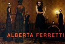 Label: Alberta Ferretti / by Vic Rivera