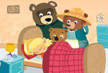 Thema Goudlokje en de drie beren / by Herlinde Vandenbussche