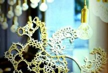 Tatting lace  / by Emily