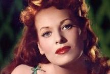 """ Lovely Maureen O'Hara "" / by Shirley Moon"