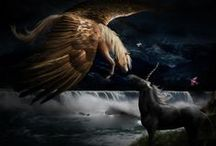Quest For Fantasy / Dragons, Unicorns, Creatures of Myths and Fables.... all for the love of fantasy / by Michelle Smits