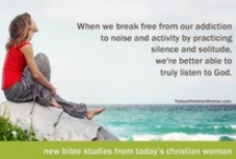 TCW Resources / Life-tested wisdom and fresh ideas for yourself, your marriage, your family, and your ministry. Use for personal study or group discussion. / by Today's Christian Woman