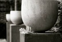 Garden pottery / contemporary pots, claasic pots / by Hristo Chilov