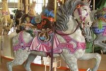 ♥Carousel Dreams♥ / There Is Beauty To Be Found In Those Painted Ponies ! Brings Me Back To My Childhood Days. / by Diane Goff-Cornett