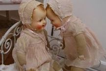 Hello Dolly! / I have always loved dolls since the first one my Dad put in my arms as a little girl.  Can't get enough of them!  / by Barbara Dolan