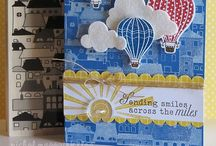 Up, Up and Away Stampin Up / A board for things made with Stampin Up's 'Up, Up and Away' stamp set / by Kay C