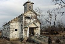 churches / abandoned & deserted... / churches / empty & silent, here & there, old & abandoned, lost & forgotten... / by liz