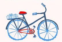 Bicicletta / Life is like riding a bicycle.To keep your balance you must keep moving.      -Albert Einstein- / by Yuno Kono