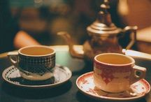 Tea or coffee ❀ / Yummy food and drink I hope this gives you some ideas for your own tea parties / by Minnie Mable