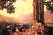 Artists - Maxfield Parrish / by Pierre Belarge