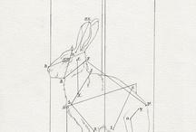 百兎 Rabbits / 我が家の家紋はうさぎ 百兎は屋号ですw / by Junko Momota
