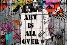 Street Art/ Arte en la Calle / by Ale Fella Miscelaneas Arte Utilitario