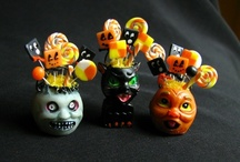 Miniatures - Halloween / See other boards for houses, holidays, kitchens, porches, living rooms, nurseries, tutorials and more / by Riding the Phoenix