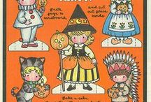 Anglund, Joan Walsh Products / For all products, except books, featuring Anglund's characters including paper dolls, figurines, dolls, needlepoint, cross stitch, cards, games and more. / by Riding the Phoenix