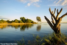 Caprivi / Bordering Angola, Botswana and Zambia, the Caprivi region is a mosaic of woodlands, rivertine forests, swamps and rivers and home to an abundance of game and birds. / by Namibia Tourism Board