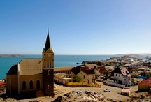 Ludertiz / Located at the southern tip of Namibia's rugged coast, Luderitz explodes with bright colors, a vibrant engagement with the sea, and an energetic culture.  / by Namibia Tourism Board