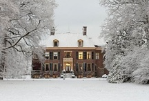 Dream Homes / My favorite houses are ivy covered colonials or tudors on a tree lined street.  / by Dianne