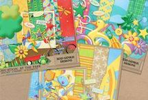 Staycation / A collection of mini kits and addons to scrap your staycation and other summer memories. / by Mad Genius Designs