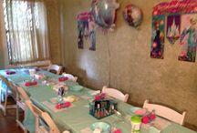 "Jianna's 8th Birthday ""Frozen"" Spa Party / My baby girls 8th birthday party...Frozen spa theme / by Monique Morales"